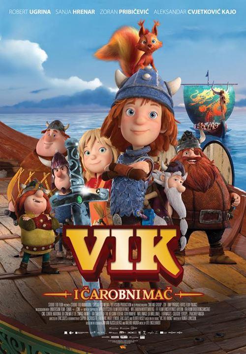 Plakat Vik i čarobni mač