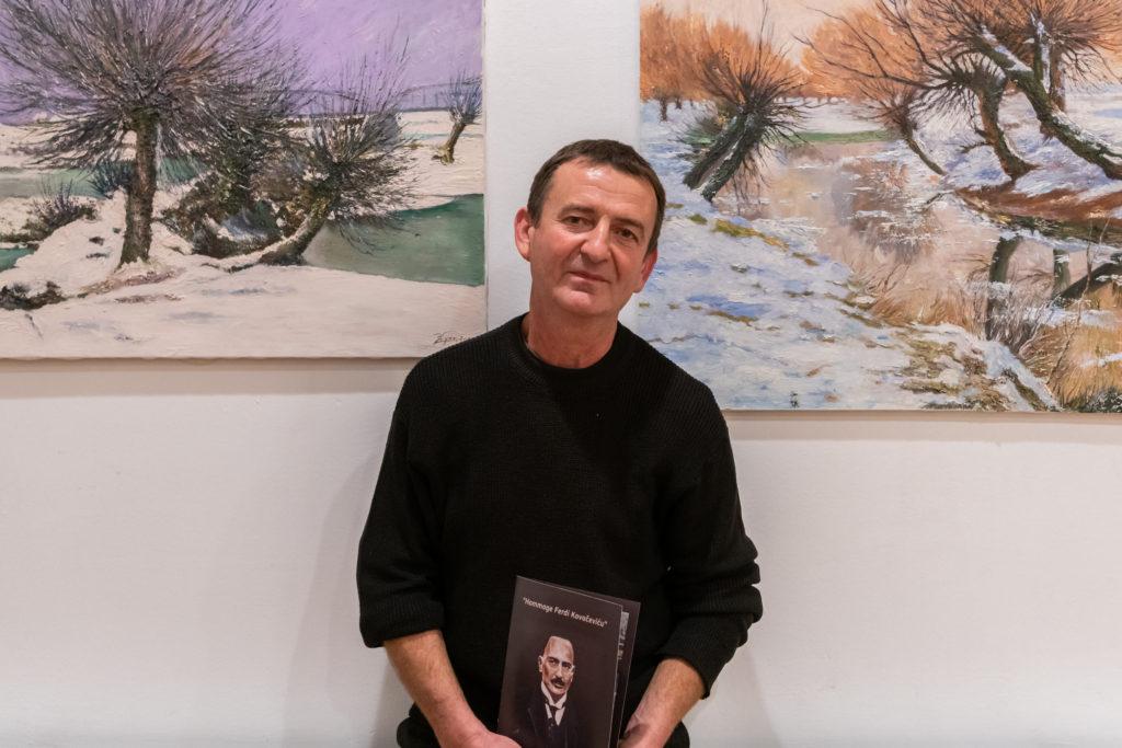 Autor izložbe, Zlatko Žagar