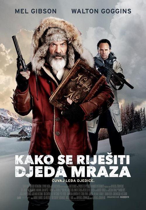 """PLAKAT: """"Kako se riješiti Djeda Mraza"""""""