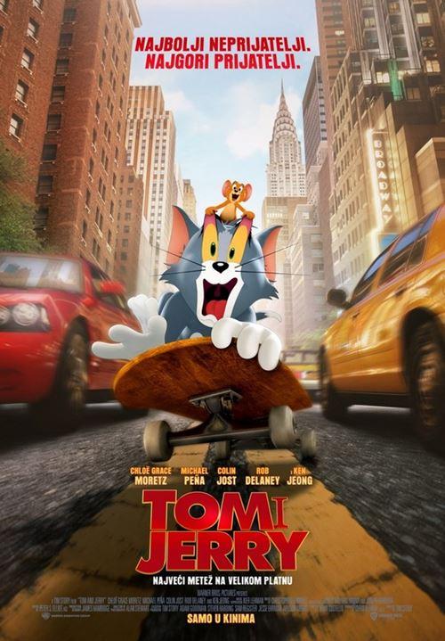 PLAKAT: Tom i Jerry