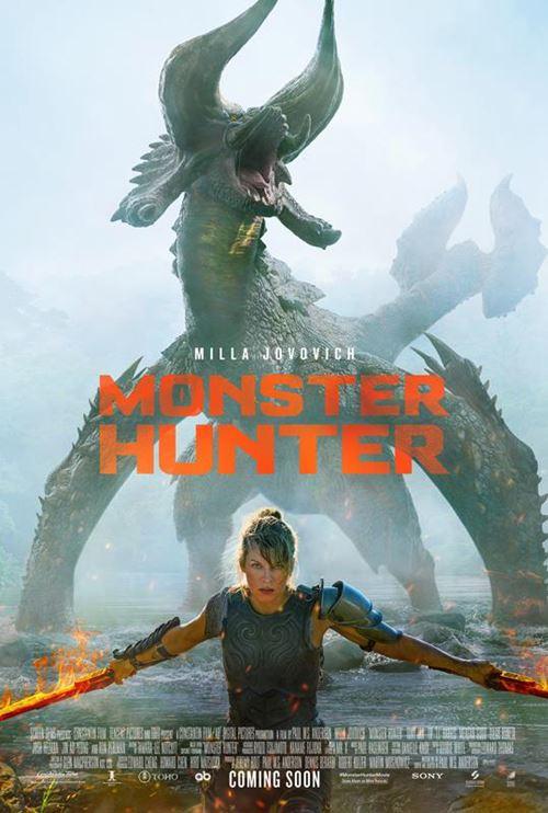 PLAKAT: Monster Hunter