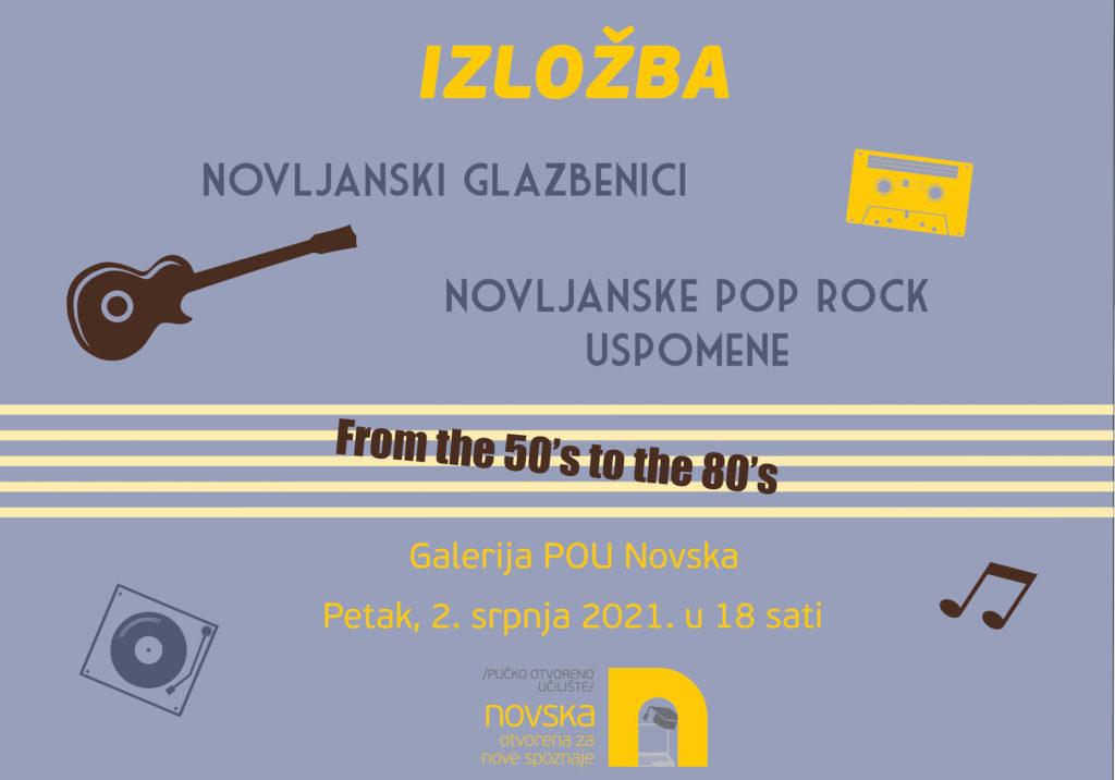 """Izložba: """"Novljanske pop rock uspomene"""""""